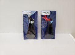 靴ベラ IPメッキ (ブルー・ブラック)